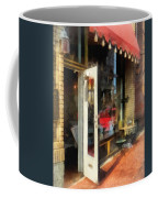 Tea Room In Sono Norwalk Ct Coffee Mug by Susan Savad