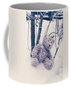 Teddy In Snow Coffee Mug