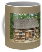 Teddy Roosevelt's Maltese Cross Log Cabin Coffee Mug