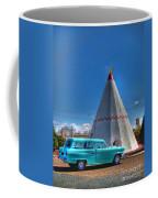 Teepee On Route 66 Coffee Mug