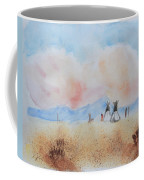 Teepees - Watercolor Coffee Mug