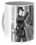 Telegraph Messenger, 1869 Coffee Mug