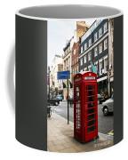 Telephone Box In London Coffee Mug