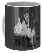 Telephone Call, 1920s Coffee Mug