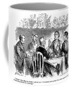 Temperance Movement, 1856 Coffee Mug