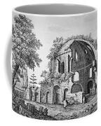 Tempio Di Minerva Medica In Roma, 18th Coffee Mug by Photo Researchers