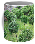 Temple Garden Trees Coffee Mug