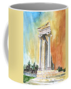Temple Of Apollo In Kourion Coffee Mug