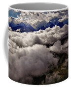 Ten Thousand Feet Over Denali Coffee Mug