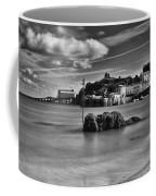 Tenby Harbour 1 Mono Coffee Mug