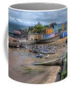Tenby Harbour In Summer Coffee Mug