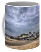 Tenby Harbour Low Tide Coffee Mug