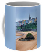 Tenby Over North Beach Painted Coffee Mug