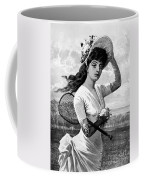 Tennis, 1887 Coffee Mug