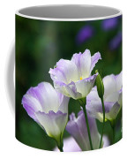 Texas Bluebell And Turquoise Visitor Coffee Mug