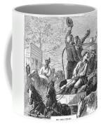Texas Cattle Trail, 1874 Coffee Mug
