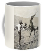 Texas: Cowboy, C1910 Coffee Mug