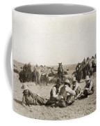 Texas: Cowboys, C1906 Coffee Mug