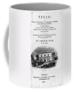 Texas: Guidebook, 1841 Coffee Mug