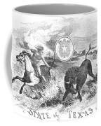 Texas Scene, 1855 Coffee Mug