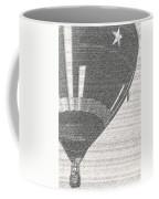 Texas Star Balloon Coffee Mug
