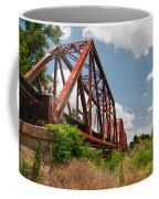 Texas Train Trestle 13984c Coffee Mug