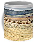 Textured Fields Of France Coffee Mug
