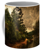 Textured Lake Coffee Mug