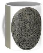 Tezcatlipoca And Huitzilopochtli Coffee Mug by Photo Researchers