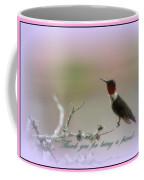 Thank You Cards Coffee Mug