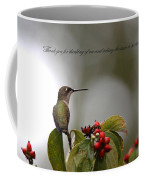 Thank You Note Coffee Mug