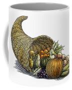 Thanksgiving: Cornucopia Coffee Mug