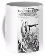 Thanksgiving Parade, 1887 Coffee Mug