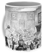 Thanskgiving Dinner, 1857 Coffee Mug