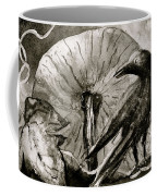 That Which Lies Behind In Black And White Coffee Mug