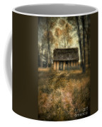 Thatched Roof Cottage In The Woods Coffee Mug