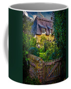 Thatched Roof Country Home Coffee Mug