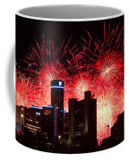 The 54th Annual Target Fireworks In Detroit Michigan - Version 2 Coffee Mug