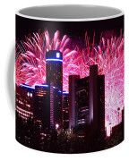 The 54th Annual Target Fireworks In Detroit Michigan Coffee Mug