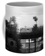 The 7 Line In Black And White Coffee Mug