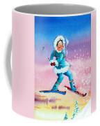 The Aerial Skier - 8 Coffee Mug