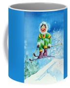 The Aerial Skier - 9 Coffee Mug