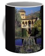 The Alhambra Palace Of The Partal Coffee Mug