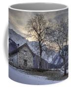 The Alps In Winter Coffee Mug