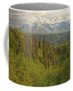 The Alsek Mountains Along The Haines Coffee Mug