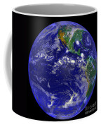 The Americas And Hurricane Andrew Coffee Mug by Stocktrek Images