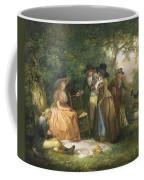 The Angler's Repast  Coffee Mug by George Morland