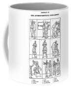 The Anthropometrical Signalment, 1896 Coffee Mug