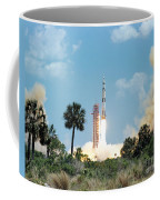 The Apollo 16 Space Vehicle Is Launched Coffee Mug