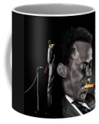 The Back And The Affront Of Miles Davis Coffee Mug